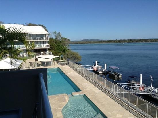 Noosa Shores Resort : The pool
