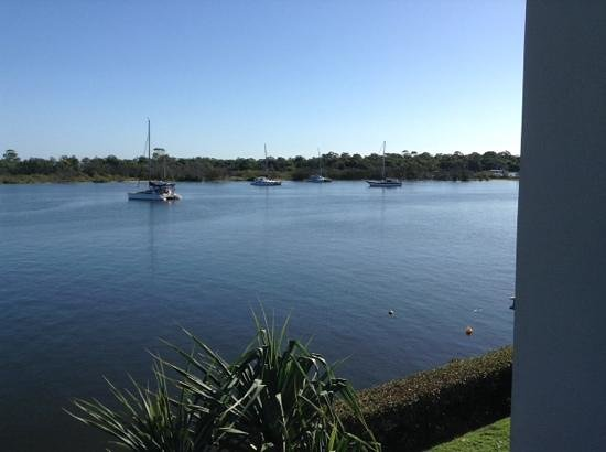Noosa Shores Resort : Our view