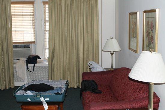 Salisbury Hotel: zona living