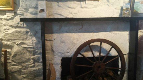 First Fruits Tearoom: Fireplace