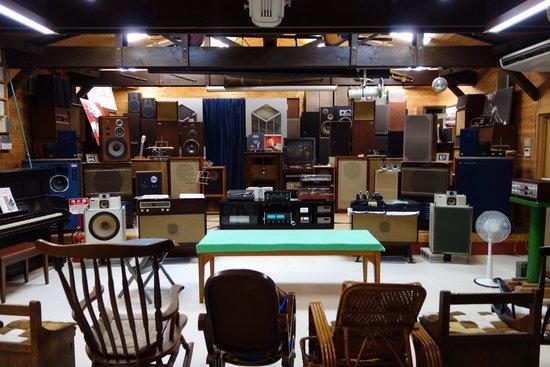 Onyoku Museum: 昔の音と今の音を聴き比べ出来ます。
