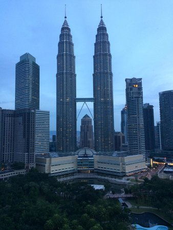 Traders Hotel, Kuala Lumpur : View from my room