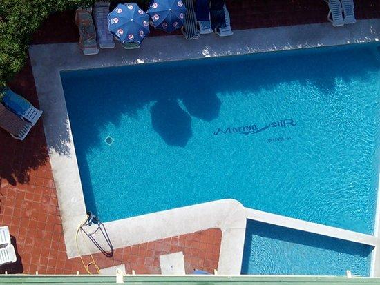 Marina Sur Hotel: Piscina desde la habitación, muy limpia