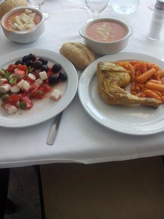 Marina Sur Hotel: 3º ejemplo de comida, muy buena