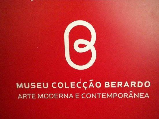 Musée Berardo : logo museo