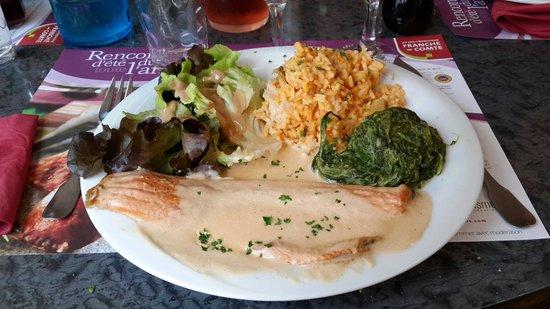 L 39 toile food wine lons le saunier restaurant avis - Cuisine lons le saunier ...