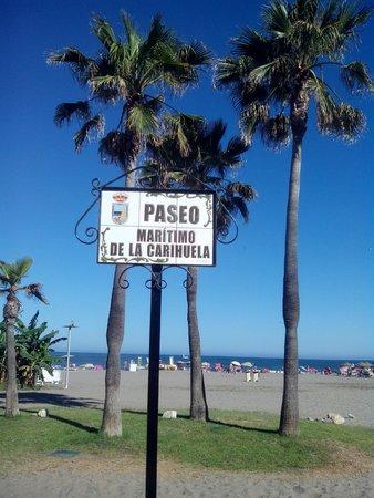 Marina Sur Hotel: La playa de la Carihuela