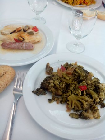 Marina Sur Hotel: 2º Ejemplo de comida, también muy buena