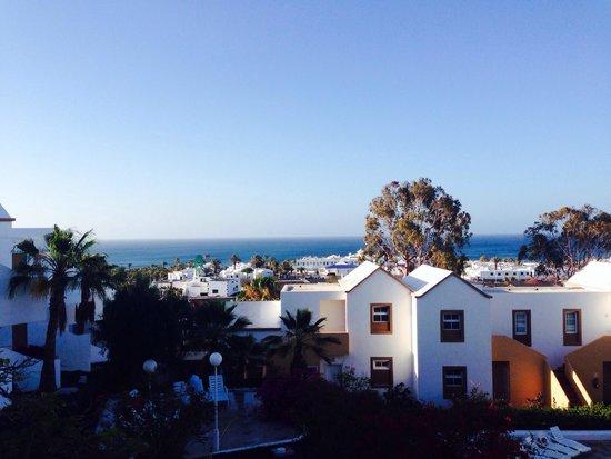 Apartamentos THe Morromar : Sea view from the balcony
