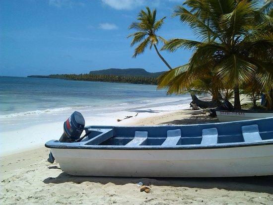 Grand Bahia Principe El Portillo : plage au bout de la péninsule