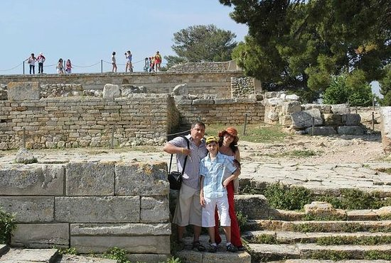 Le Palais de Cnossos : Крит 2011
