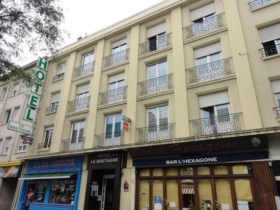 Hotel Le Bretagne: Façade de l'hôtel