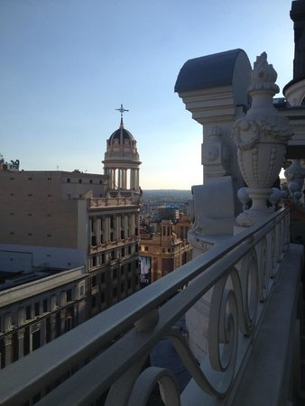 Hotel Atlantico: View from roof top bar