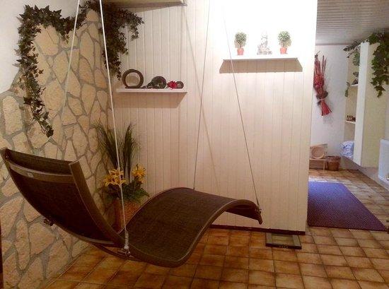 Landhaus Ohnesorg: Saunabereich