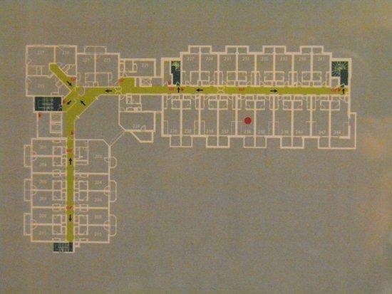 Le Refuge des Aiglons: Room Plan