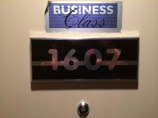 Radisson Blu Scandinavia Hotel: Business Class room
