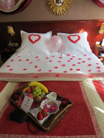Hotel Britannique: Romantic Package