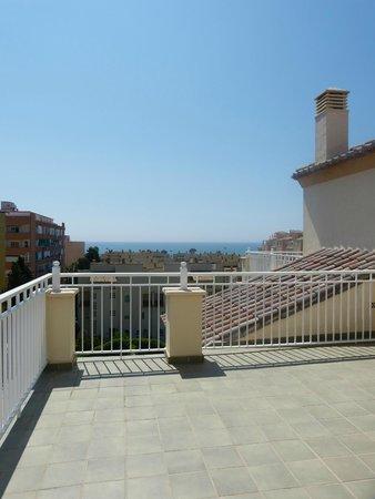 Hotel Pueblo Camino Real : Vue sur mer de la terrasse