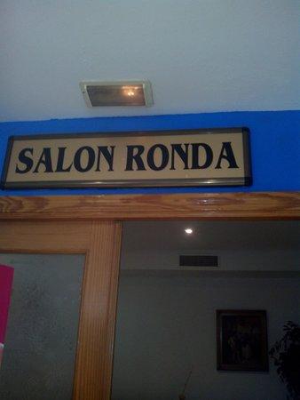 Marina Sur Hotel: Salón Ronda, muy agradable su estancia para leer si te apetece