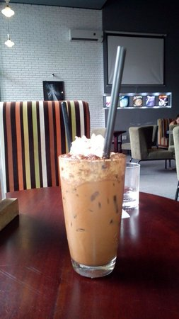 Iced Coffee: Iced mocha for 55 000 VND