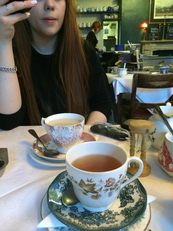 Soho's Secret Tea Room: tea cup