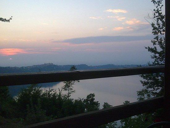 Fauno del Bosco : Il più bel panorama a castel gandolfo con una cena fantastica!!!