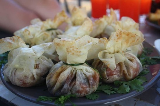 Riad Kasbah 117 Marrakech : les bons plat de karima pour lapero