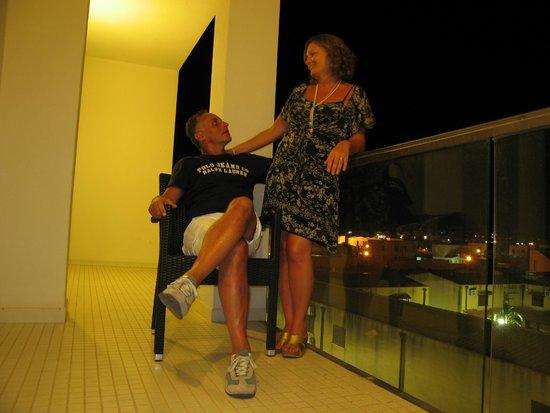 Hotel Admeto : terrazzo/camera