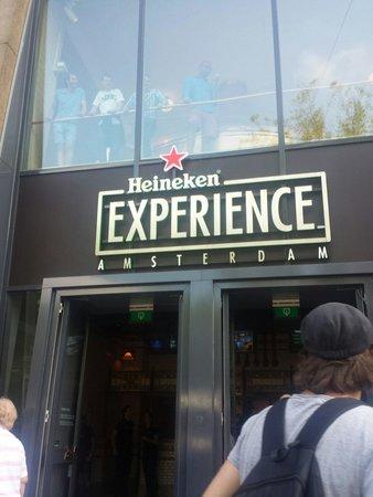 Heineken Experience: Entrada rápida con el Holland pass
