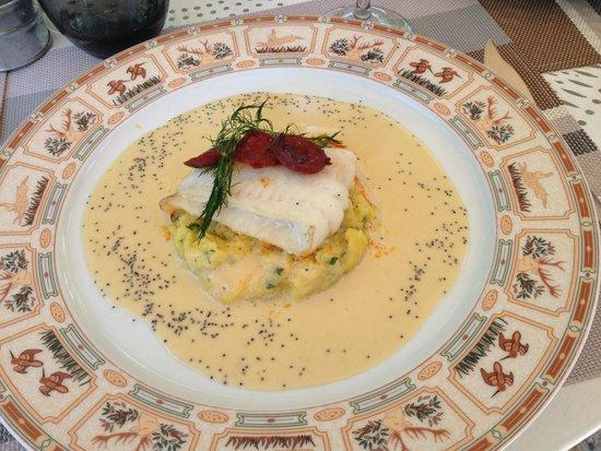 Auberge De L'ecole : Cabillaud in a mouthwatering sauce