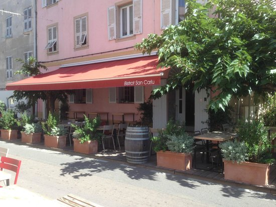 Hotel San Carlu Citadelle : Restaurant de l'hôtel