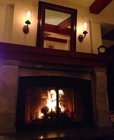Hotel Quintessence: The fire place