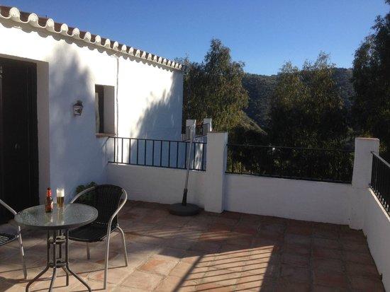 Casa Colina: terras van de Almond suite