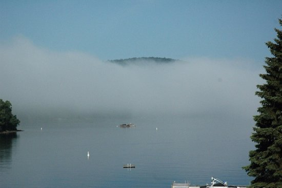 Hotel Quintessence: Morning fog