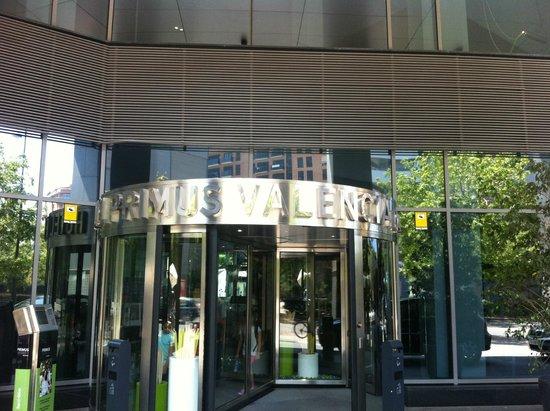 Hotel Primus Valencia: entrada