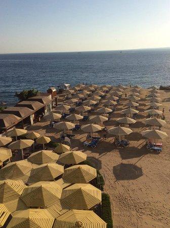 SUNRISE Holidays Resort: view over beach bar