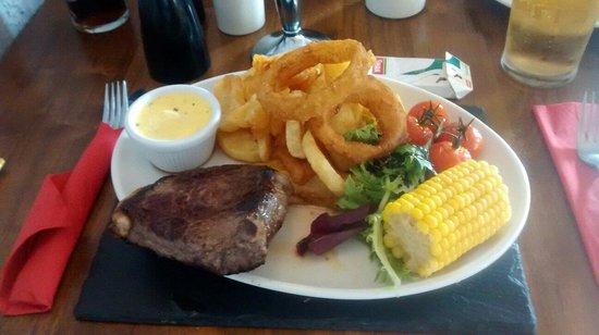 The Bowling Green Inn: Rump steak