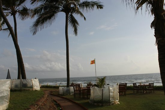 Galle Face Hotel Colombo: open sky