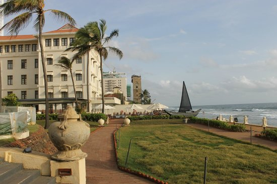 Galle Face Hotel Colombo: near the sea