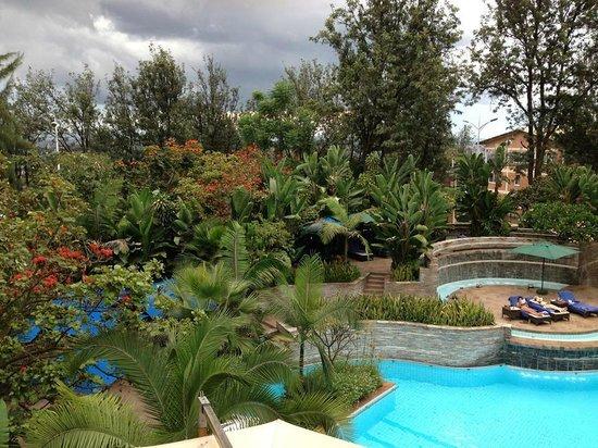 Kigali Serena Hotel : the view at kigali serena