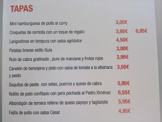 Gula: Oferta Restaurante 1