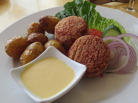Sjokrogen: De vegetarische menu