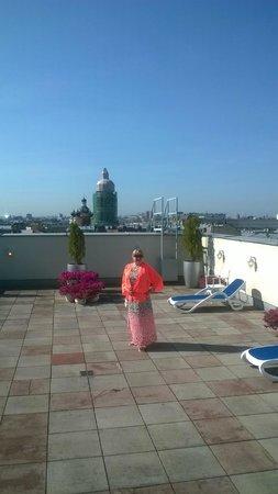 Corinthia Hotel St. Petersburg: спа на крыше