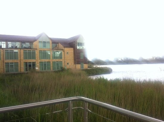 De Vere Cotswold Water Park: view from the hotel