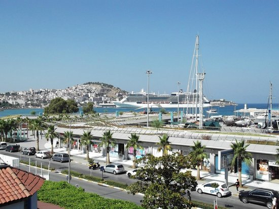 SENTIDO Marina Suites- Adult Only : view from restaurant