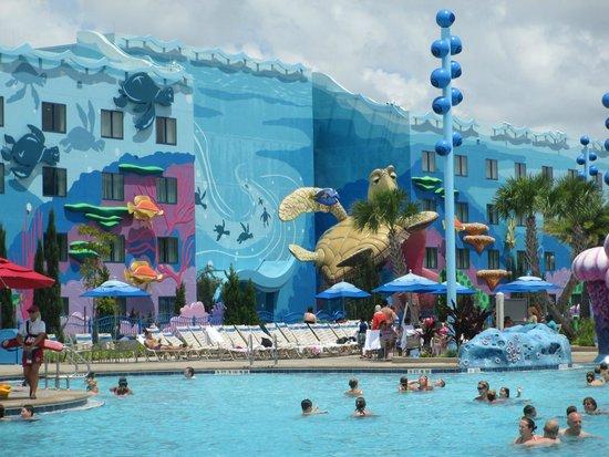 Disney's Art of Animation Resort : Main Pool