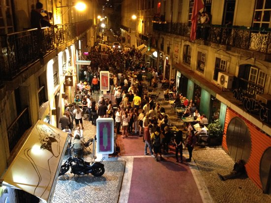 LX Boutique Hotel: Das Partyleben in Lissabon :)