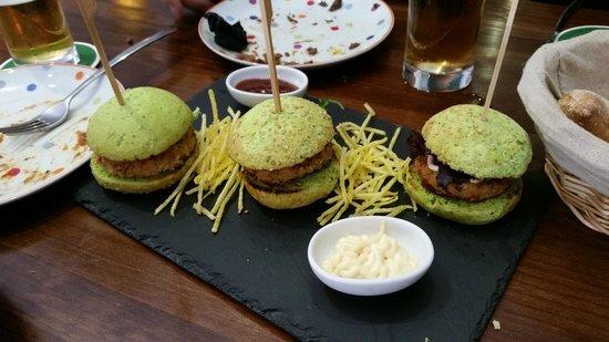 Origen Taberna : green burger