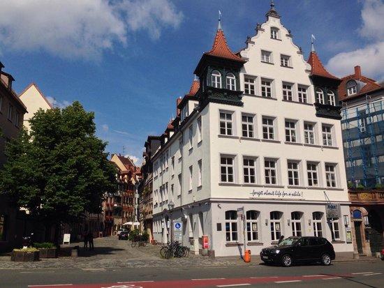 Garden Hotel: Nurnberg old town