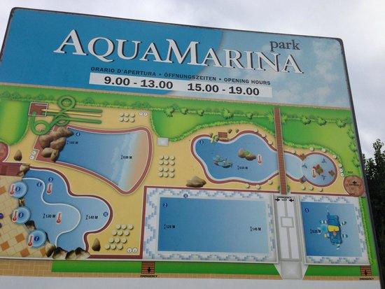 Camping Village Marina di Venezia: werbetafel